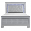 Homelegance Allura Collection Bedroom Set in Silver Grey