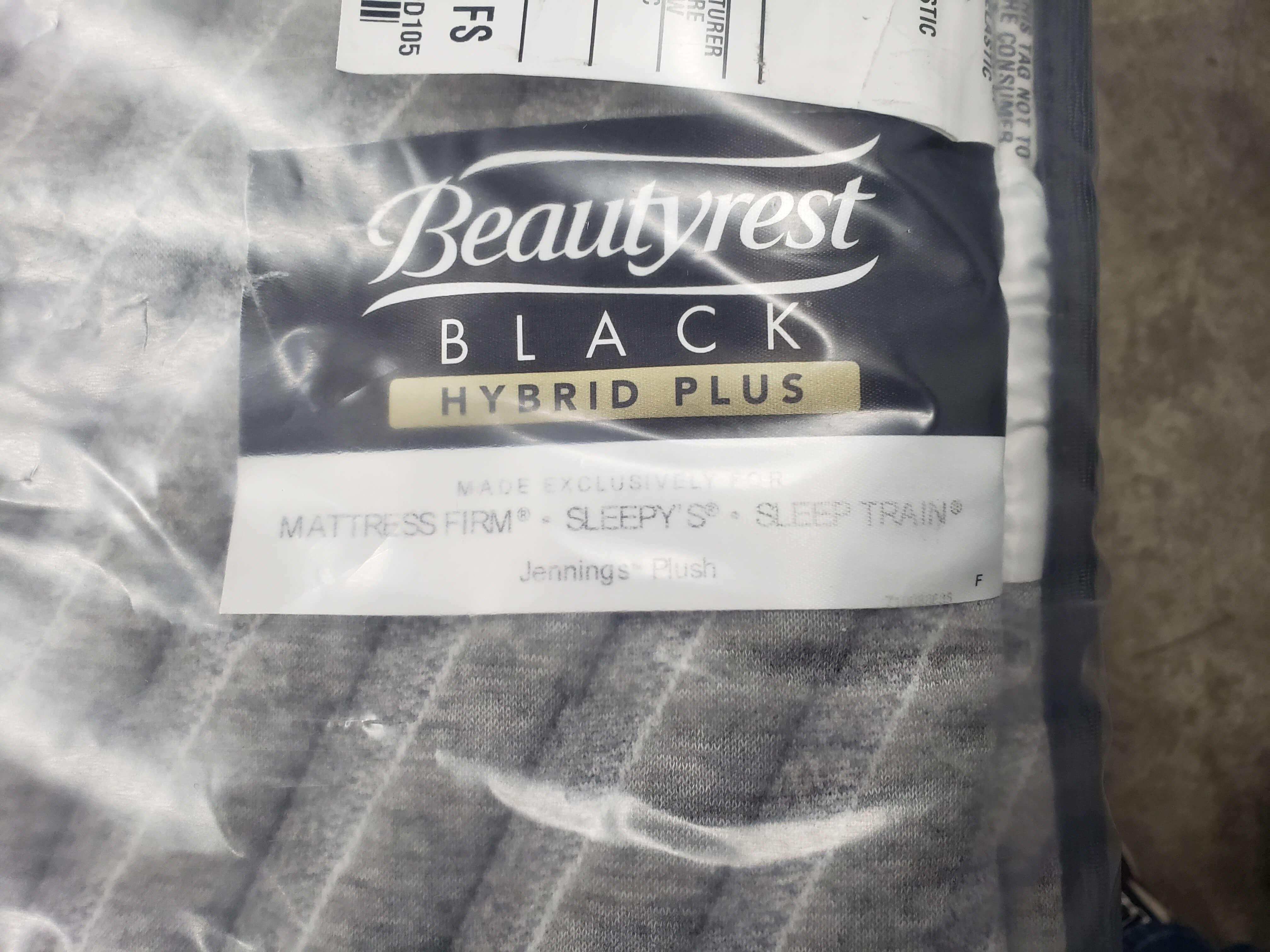 Simmons Beautyrest Black Hybrid Plus Jennings 14 5 Plush Queen Mattress