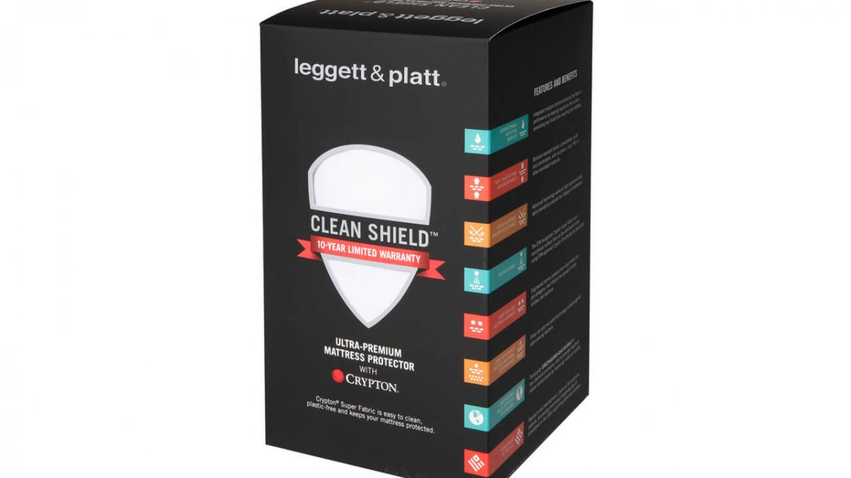 Leggett Platt Clean Shield Mattress Protector