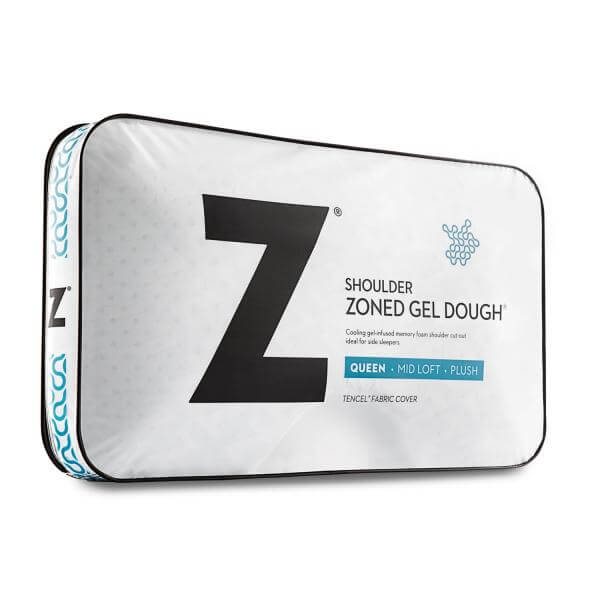 Z Shoulder Zoned Gel Dough Pillow By Malouf Fine Linens