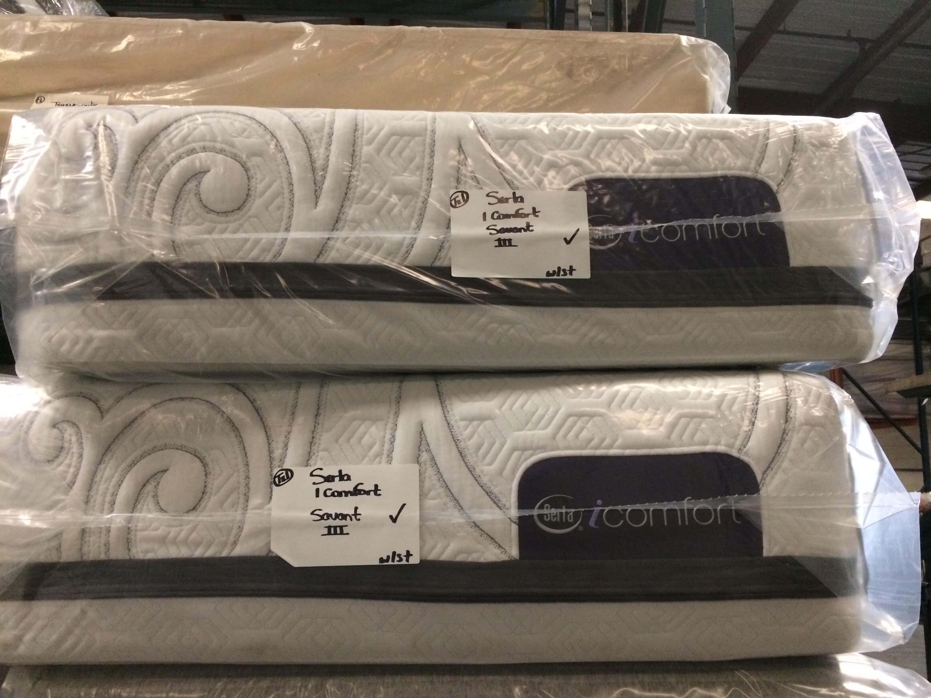 Serta Icomfort Savant Iii Plush Memory Foam Split King Mattress