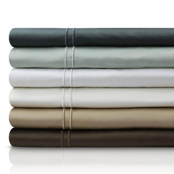 Malouf Fine Linens 600 Thread Count Egyptian Cotton Twin