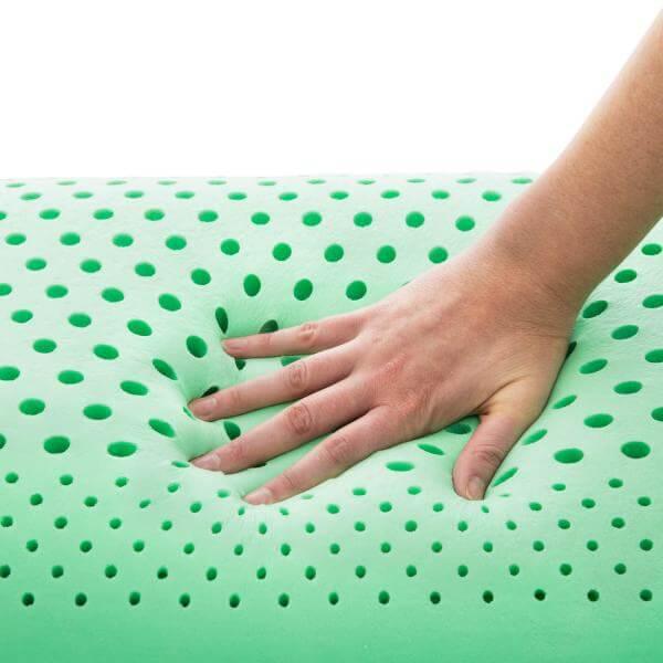 Z Zoned Dough Peppermint Pillow By Malouf Finen Linens