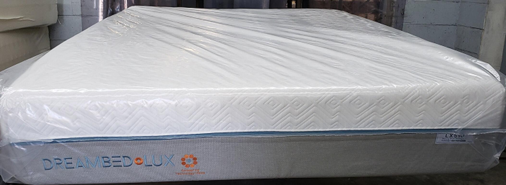 Dream Bed Lux Lx510 12 Quot Firm Memory Foam Queen Mattress