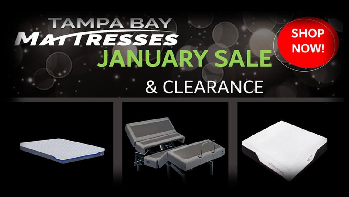 January Mattress Sale