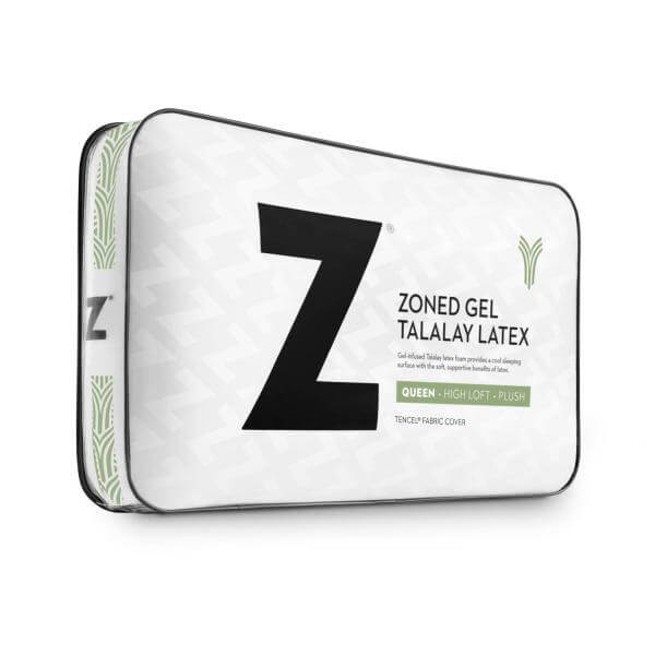 Z Zoned Gel Tatalay Latex Pillow By Malouf Fine Linens