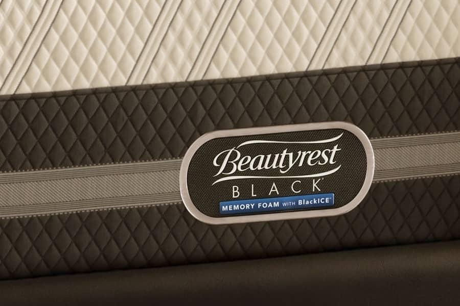 Simmons Beautyrest Black Memory Foam Blackice Kelsie 12 5